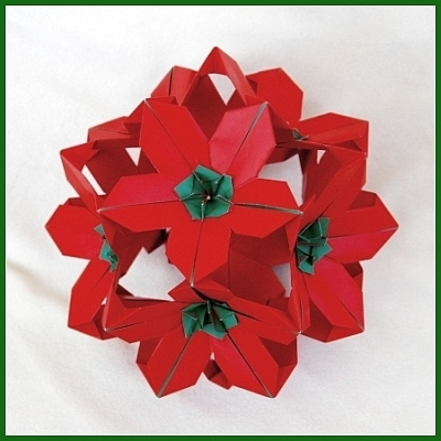 Poinsettia Floral Ball 2 And Passion Flower Created March 2012