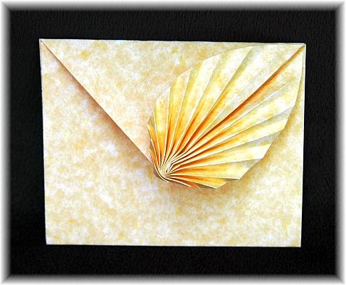 Leaf Note Card By Gay Merril Gross